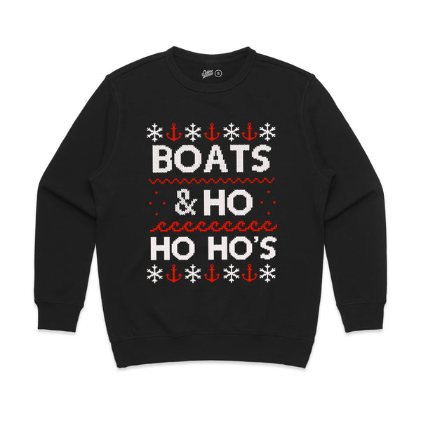 Boats And Ho Ho Ho's 2 Color Fleece