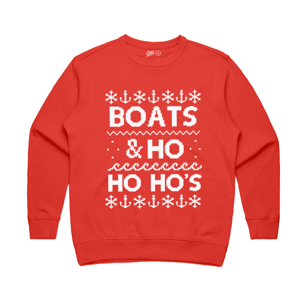 Boats & Ho Ho Ho's Fleece