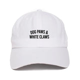 "Dog Paws & White Claws ""Dad Hat"""