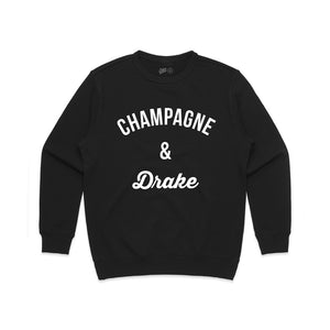 Champagne and Drake Crewneck Sweatshirt