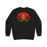 Champagne Gang Rose Bunch Fleece