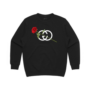 Champagne Gang Single Rose Fleece
