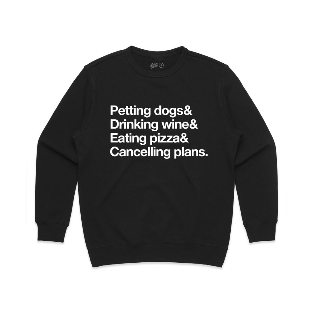 Petting Dogs & Cancelling Plans Fleece