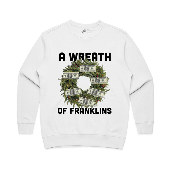 A Wreath of Franklins Fleece