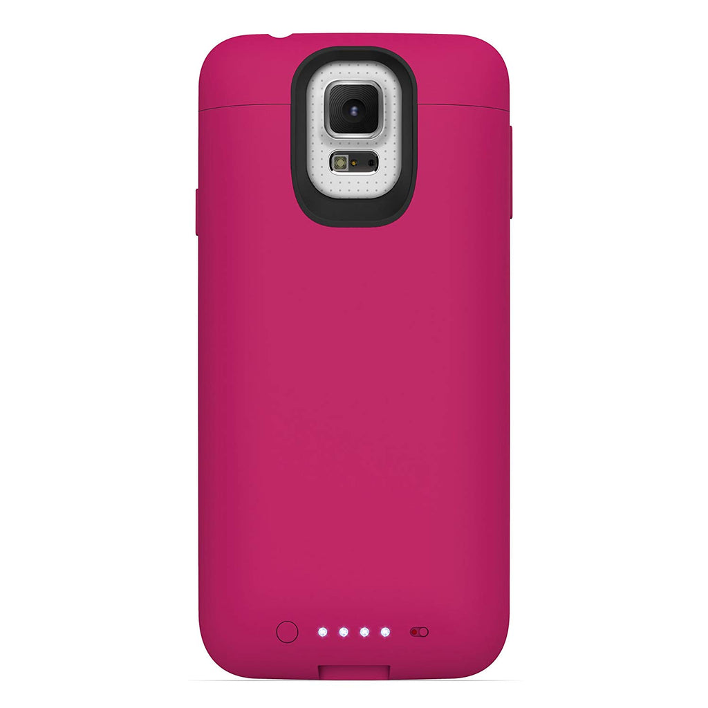 new arrival 4034b 6117a Mophie Juice Pack Rechargable Battery Case for Samsung Galaxy S5 (3000 mAh)  - Pink