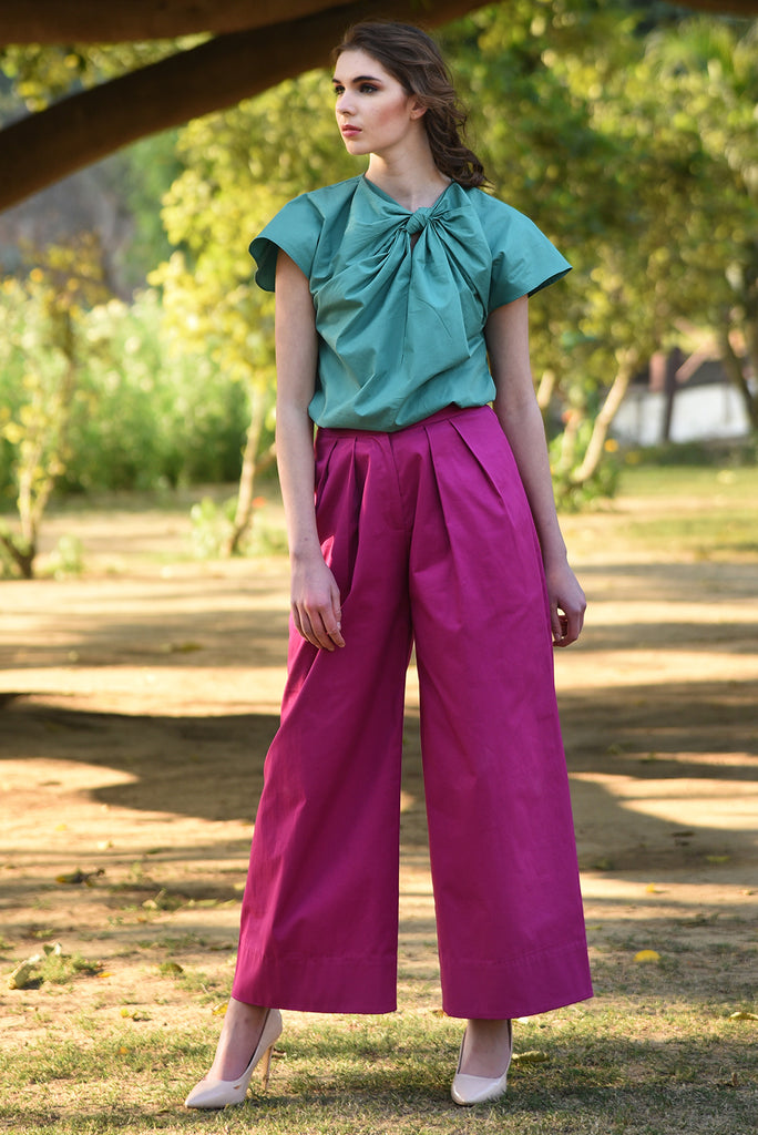 On the Bright Side Pants – Hot Pink