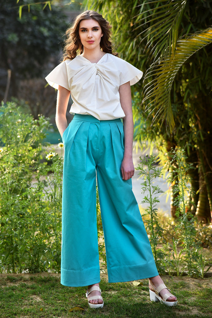 On the Bright Side Pants – Teal