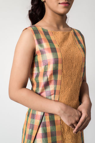 Handwoven Eri Silk Dress