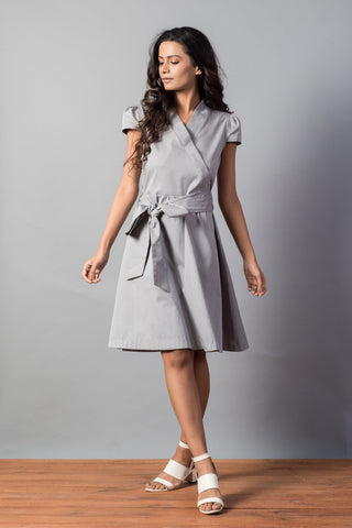 Timeless Olive Shirt Dress with Corset Belt