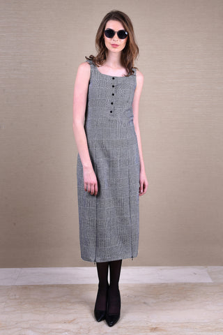 Checkered Sailor Dress