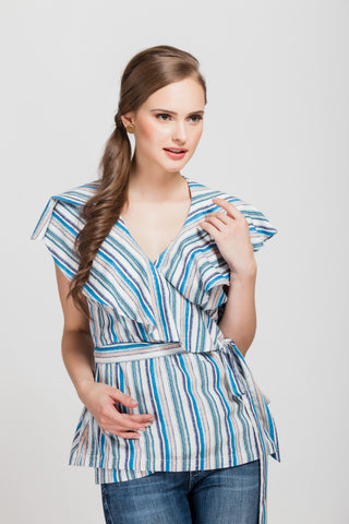 Daydreamer Red Striped Shift Dress