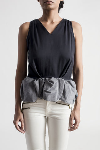 Volute Sleeveless Top