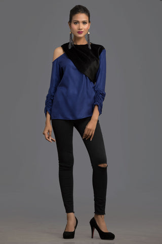 Blue Address Fall Top