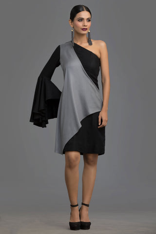 Grey Nocturne Dress