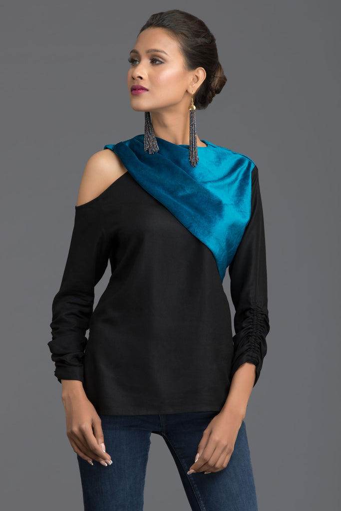 Teal Address Fall Top
