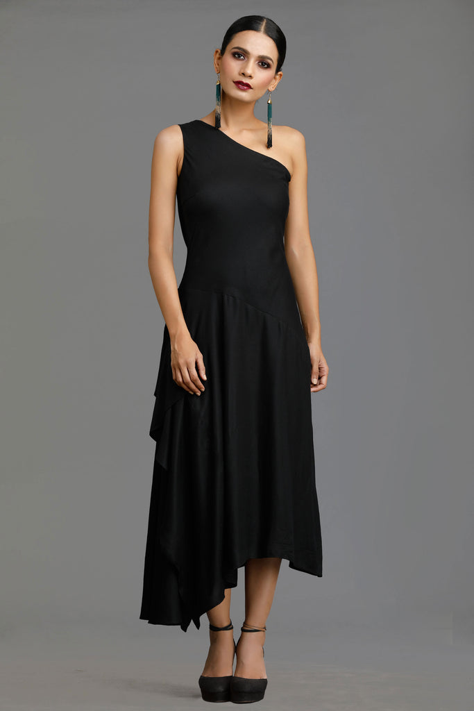 Black Midnight Muse Dress