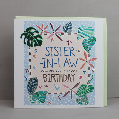 Birthday Sister in Law (AB07)