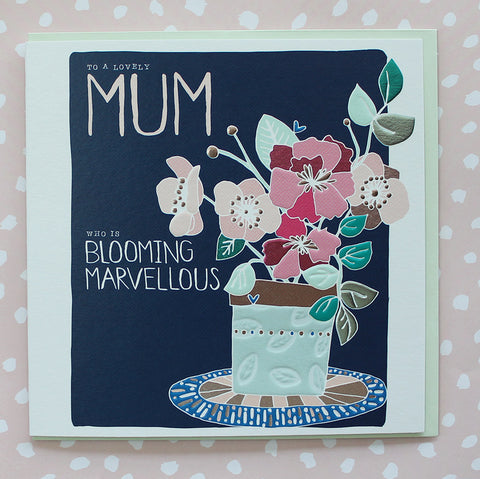 Lovely Mum who is blooming marvelous (AB31)