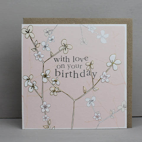 With Love On Your Birthday - Blossom (CB103)