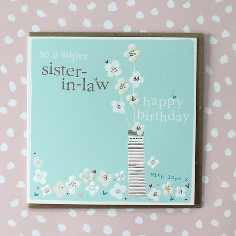 Sister-in-Law Birthday (CB112)
