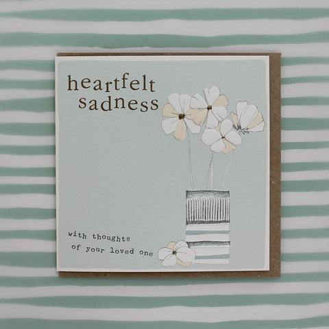 Heartfelt sadness - with thoughts of your loved one (CB141)