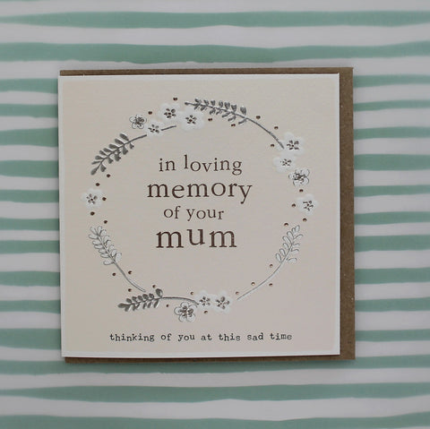 In loving memory of your mum (CB148)