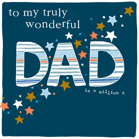 Truly wonderful Dad in a million (CB154)