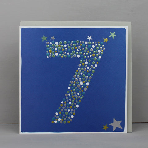 Boy Aged 7 Birthday Card (CB80)