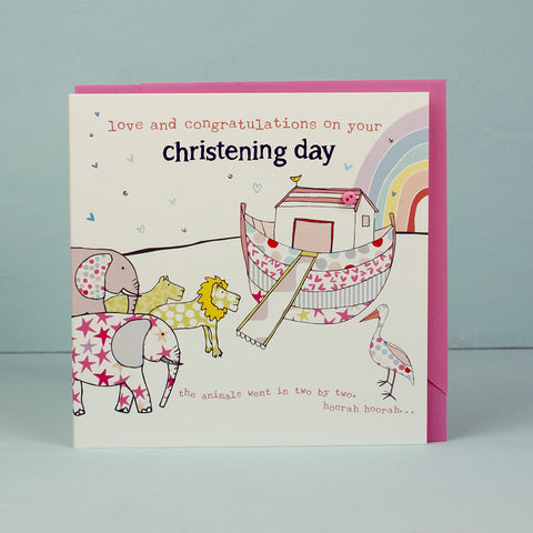 On your Christening Day - Girl (HT26)