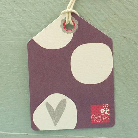 Purple Spot Tag (T04)