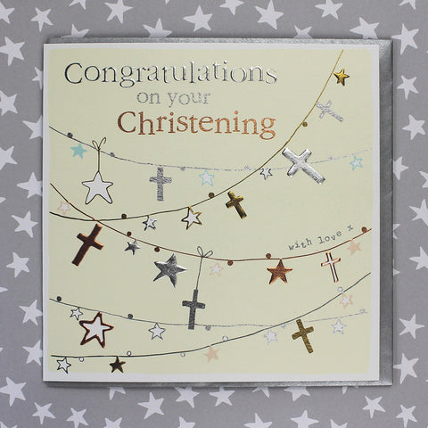 Congratulations On Your Christening (FB120)