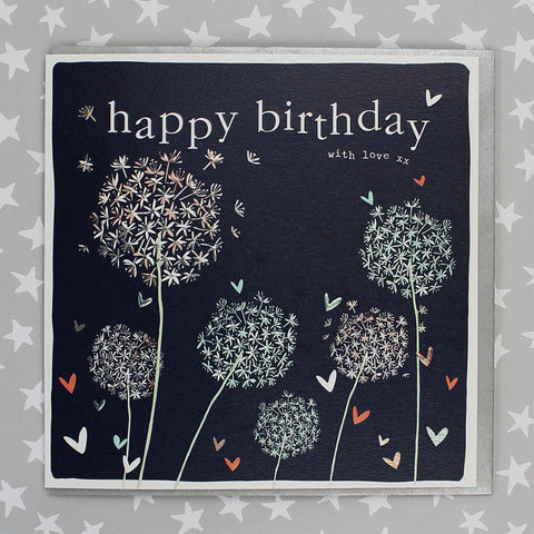 Happy Bithday With Love - Alliums (FB141)