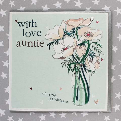 With Love Auntie On Your Birthday (FB146)