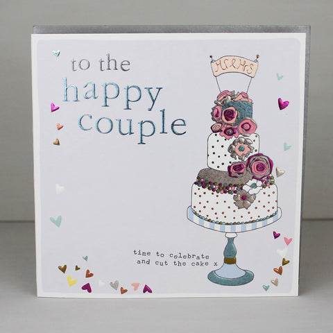 To the happy couple wedding card (FB19)