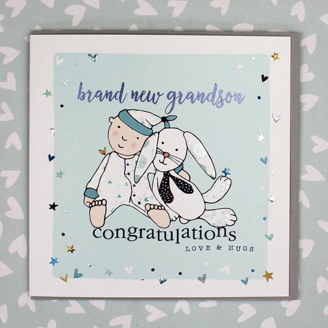 Brand New Grandson Card (GC03)