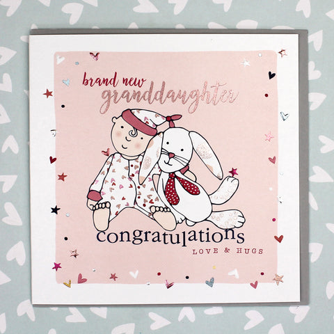 Brand New Granddaughter Card (GC04)