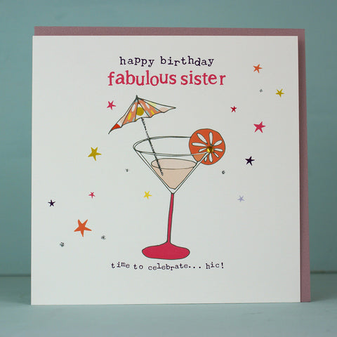 Happy Birthday fabulous sister (HT55)