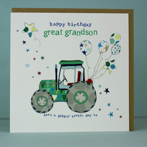 Happy Birthday great grandson (HT70)