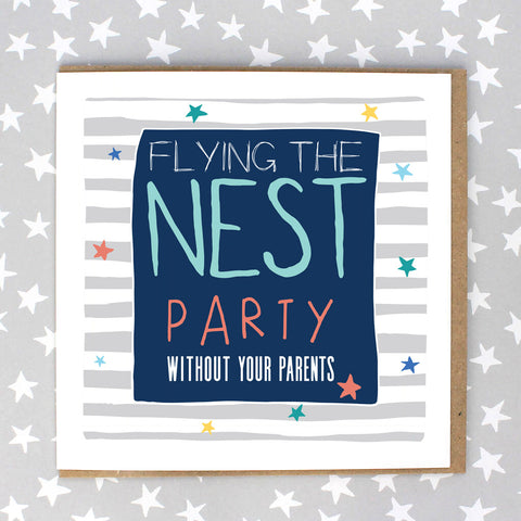 Flying the Nest, Party Without Your Parents (IR184)