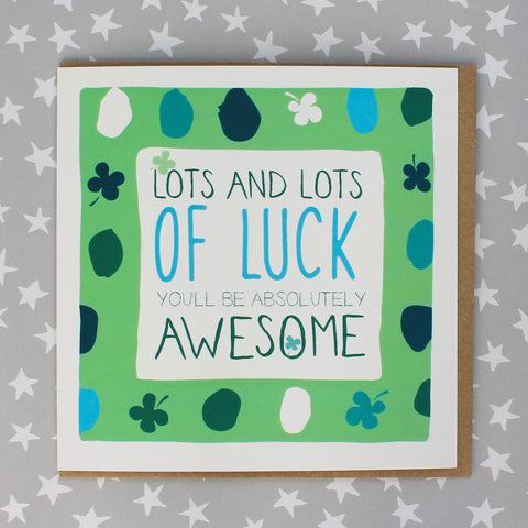 Lots And Lots Of Luck Card (IR61)