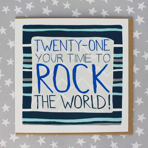 21 Your time to rock the world (Stripes) (IR68)