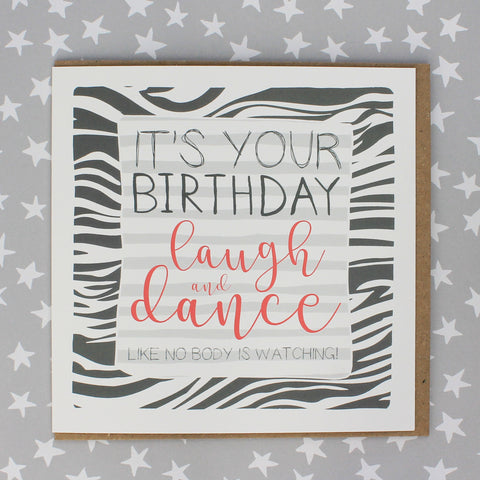 It's your birthday, laugh and dance (IR97)