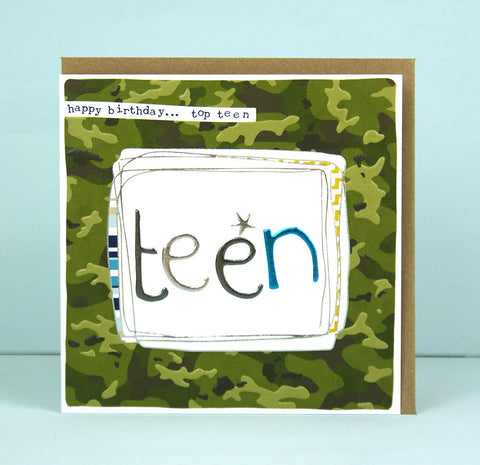Boy teen Birthday Card (LF02)