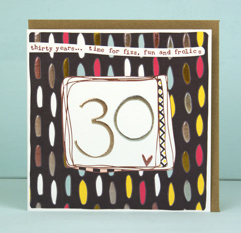 Female 30th Birthday Card (LF16)
