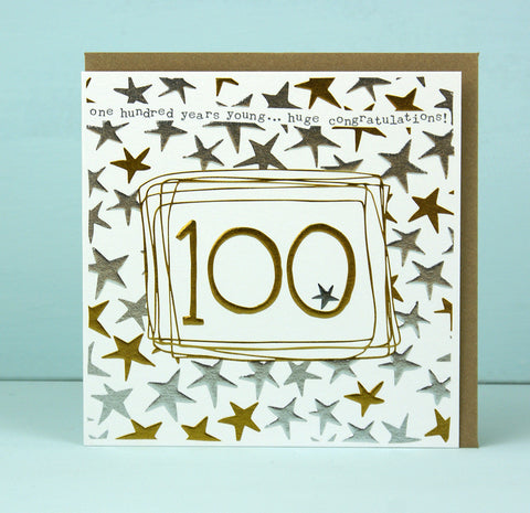 100th Birthday Card (LF23)