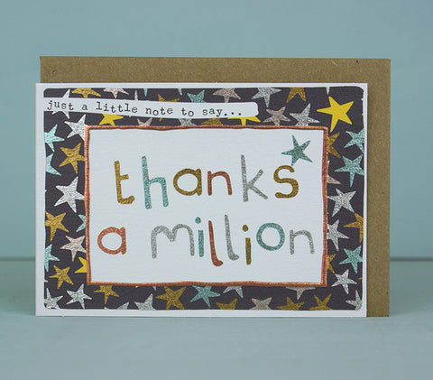 Mini Card - Thanks a Million (MP21)