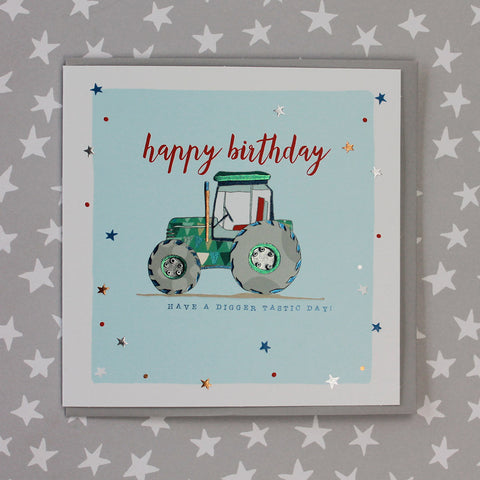 Happy Birthday - Tractor (TC52)