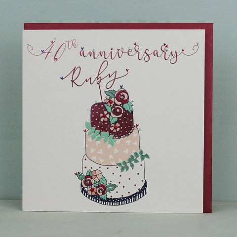 40th Wedding Anniversary (TJ31)