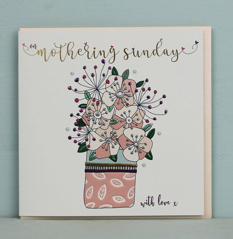 Mothering Sunday - Flower pot (TJ36)