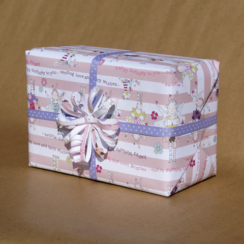 Fairy Toadstool Gift Wrap (WR10)